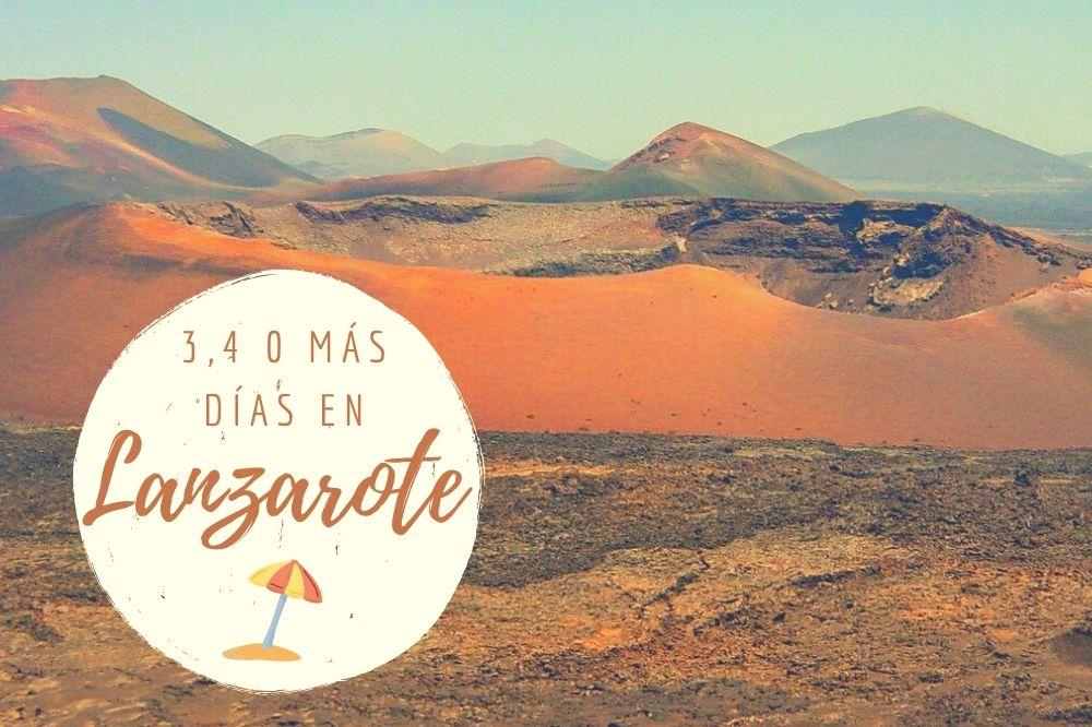 Lanzarote en 3 días