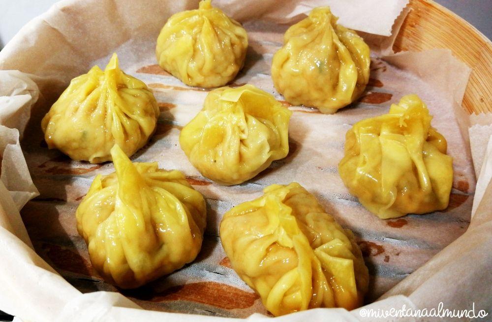 dumplings aperitivos tailandeses