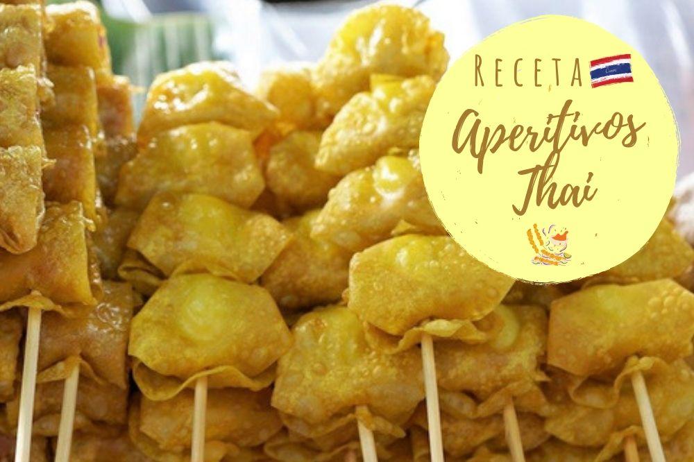 aperitivos tailandeses