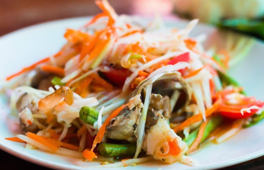 qué comer en Tailandia