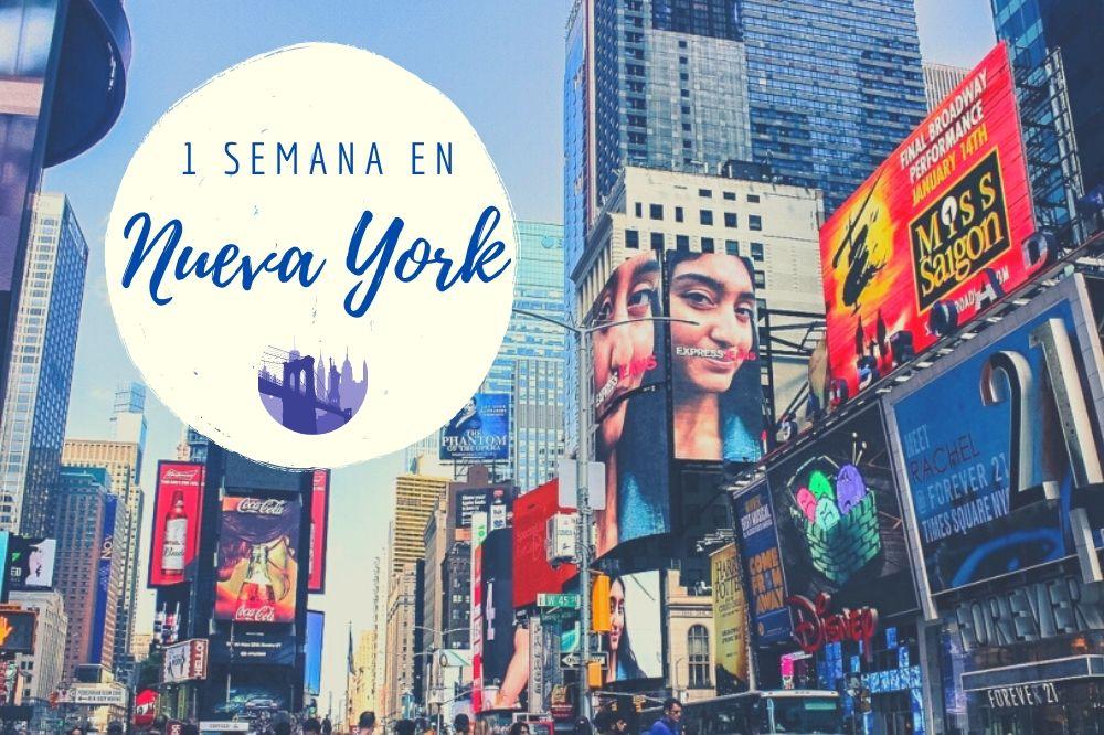Nueva York en 1 semana