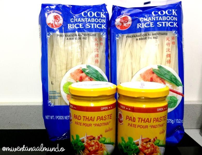Cómo preparar Pad Thai