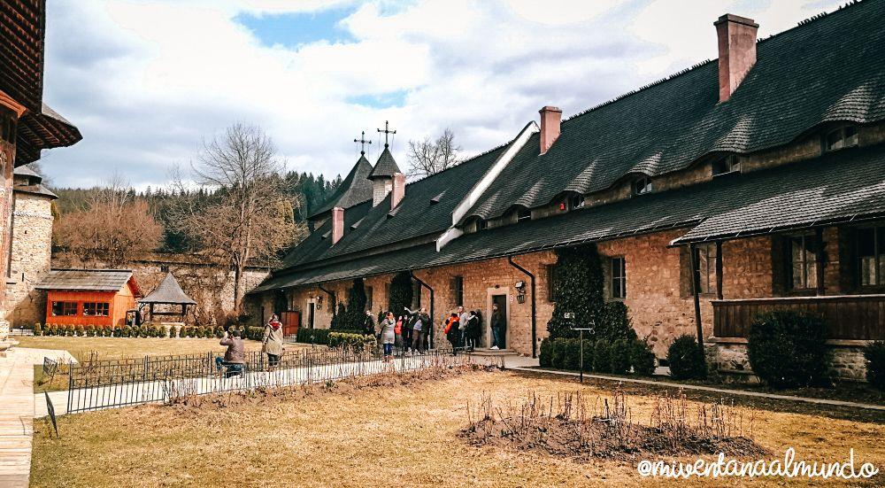 Monasterios pintados de Bucovina