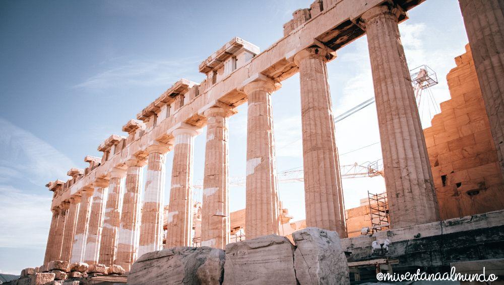Un día en Atenas.