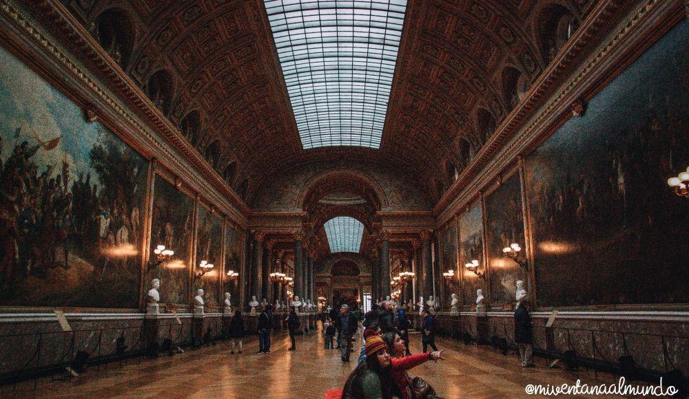 visitar el Palacio de Versalles
