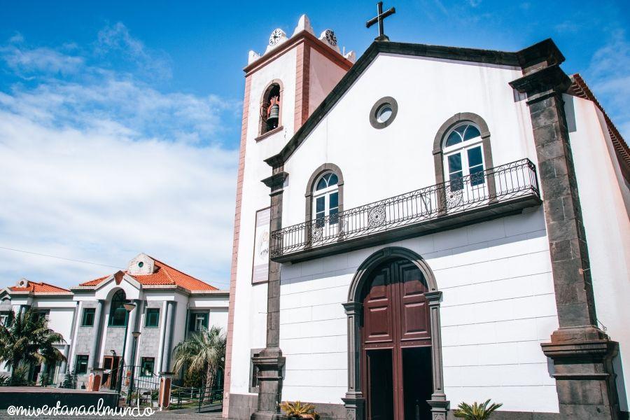 Carretera de la costa norte de Madeira