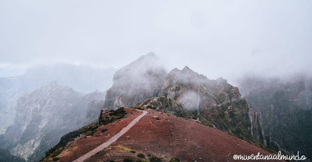 montañas del interior de Madeira en 1 semana