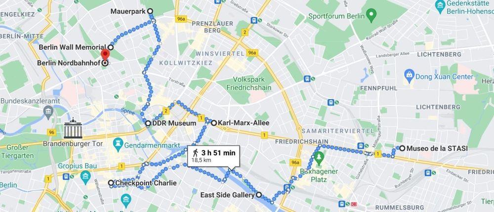 Ruta por Berlín
