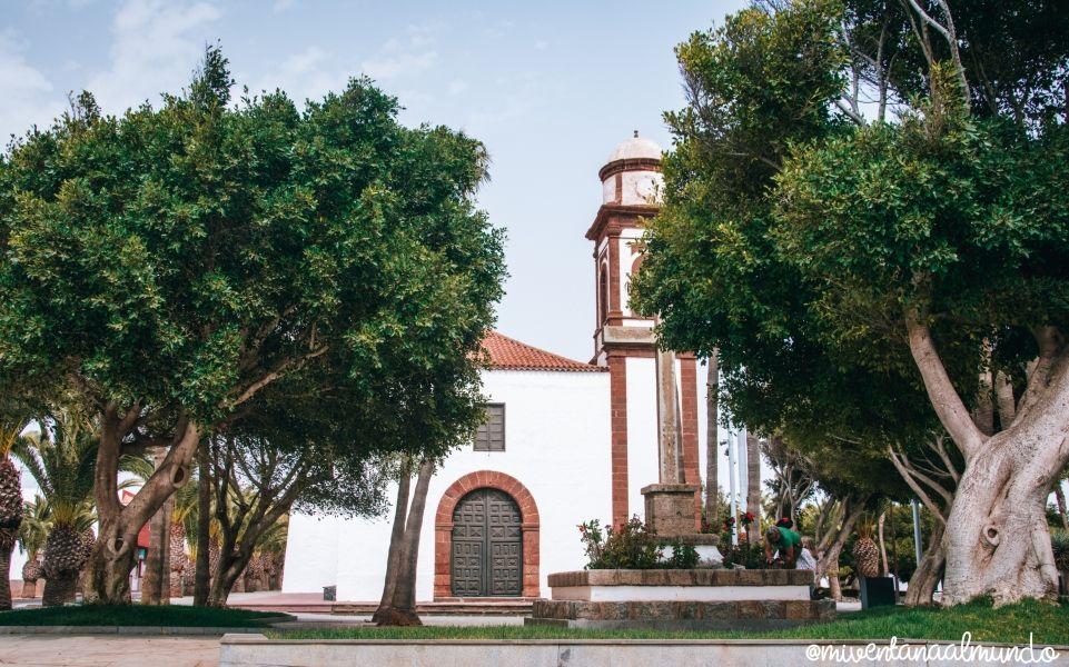 el centro de Fuerteventura